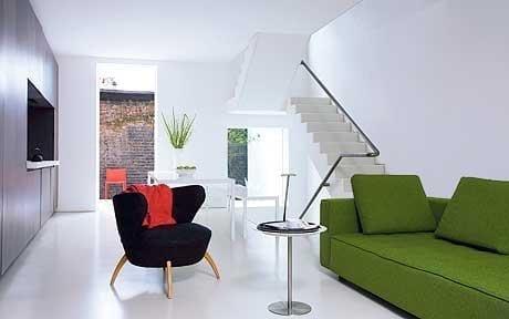 minimal interior living room