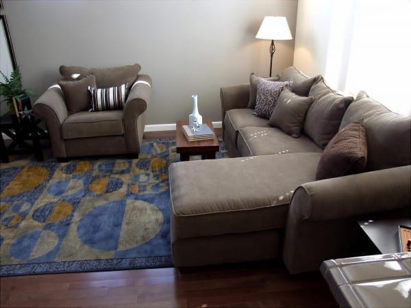 My new house - living room