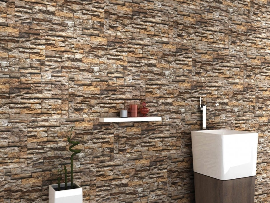 natural stone bathroom wall tiles
